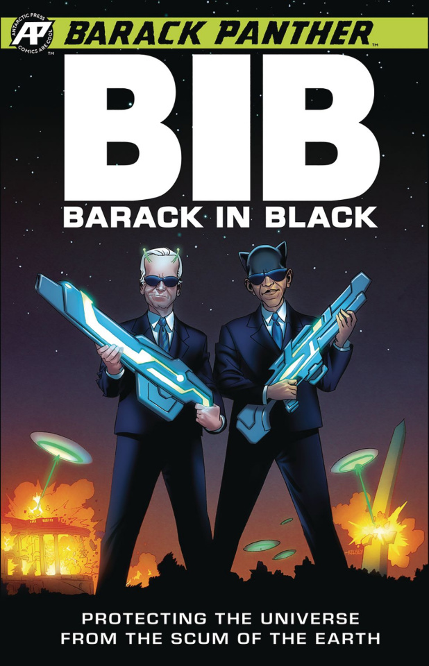 Barack Panther: Barack in Black #1