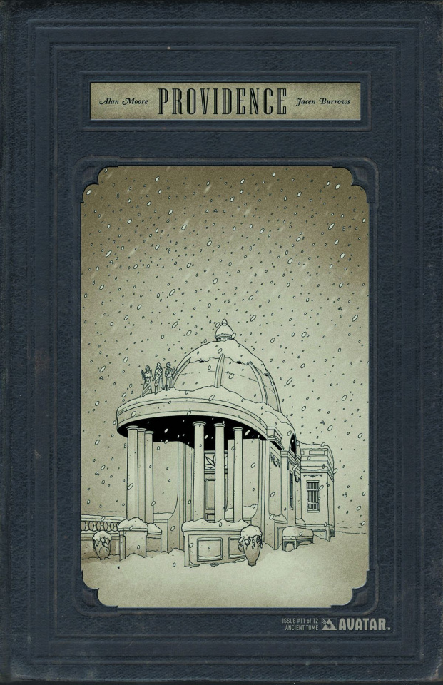 Providence #11 (Ancient Tome Retailer Cover)