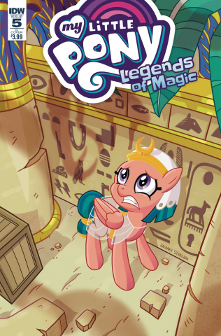 My Little Pony: Legends of Magic #5 (Sterling Cover)