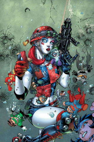Harley Quinn and the Suicide Squad April Fools Special #1 (2nd Printing)