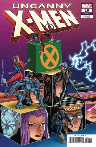 Uncanny X-Men #10 (Lim Cover)