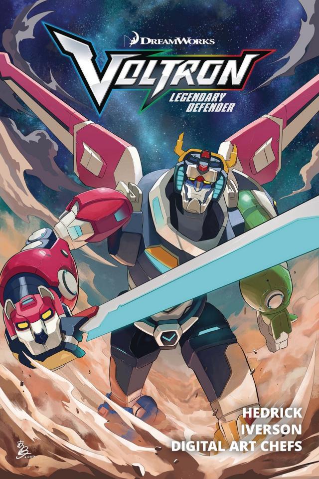 Voltron: Legendary Defender Vol. 1