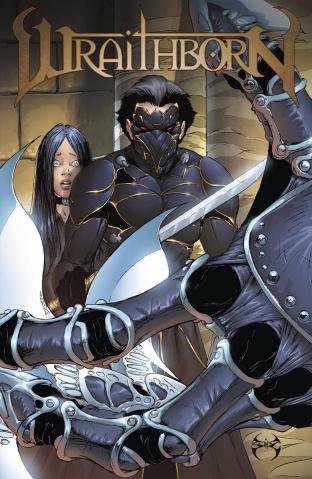Wraithborn #5 (10 Copy Cover)