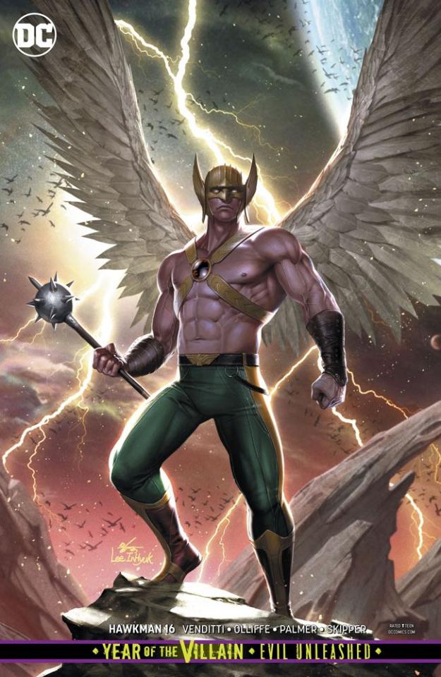 Hawkman #16 (Year of the Villain)