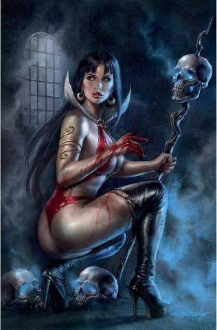 Vengeance of Vampirella #19 (Parrillo Virgin Cover)