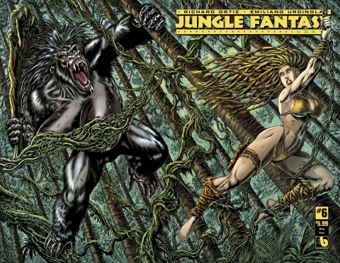 Jungle Fantasy: Ivory #6 (Wrap Cover)