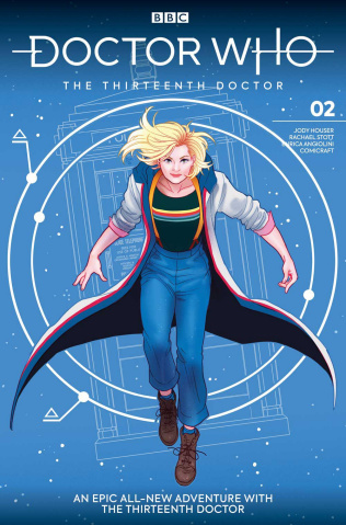 Doctor Who: The Thirteenth Doctor #2 (Ganucheau Cover)