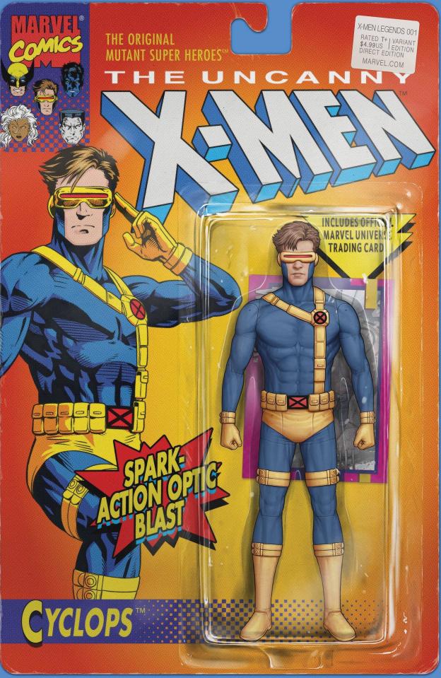 X-Men Legends #1 (Christopher Action Figure Cover)