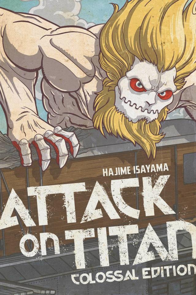 Attack on Titan Vol. 6 (Colossal Edition)