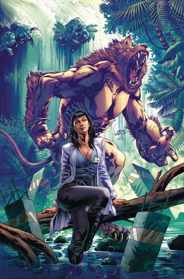 Red Agent: The Island of Dr. Moreau #4 (Vitorino Cover)