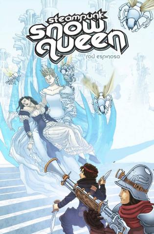 Steampunk Snow Queen #3