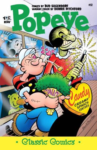 Popeye Classics #52 (10 Copy Cover)