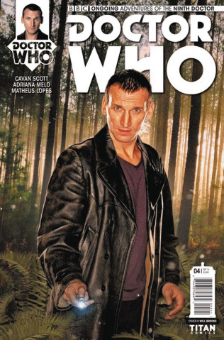 Doctor Who: New Adventures with the Ninth Doctor #4 (Photo Cover)