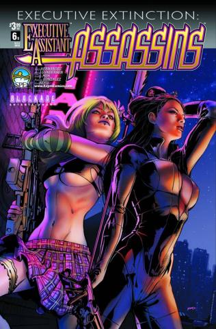 Executive Assistant: Assassins #6 (Mhan Cover)
