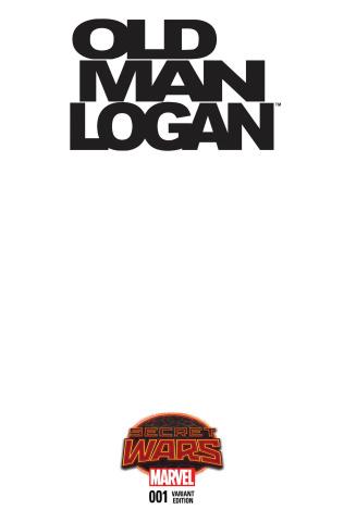 Old Man Logan #1 (Blank Cover)