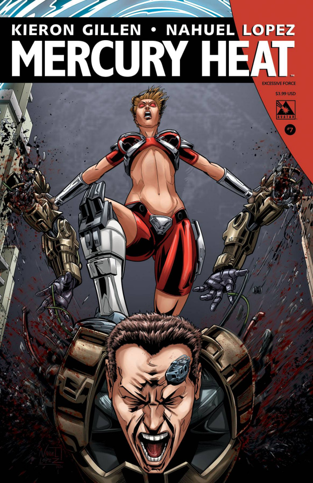 Mercury Heat #7 (Excessive Force Cover)
