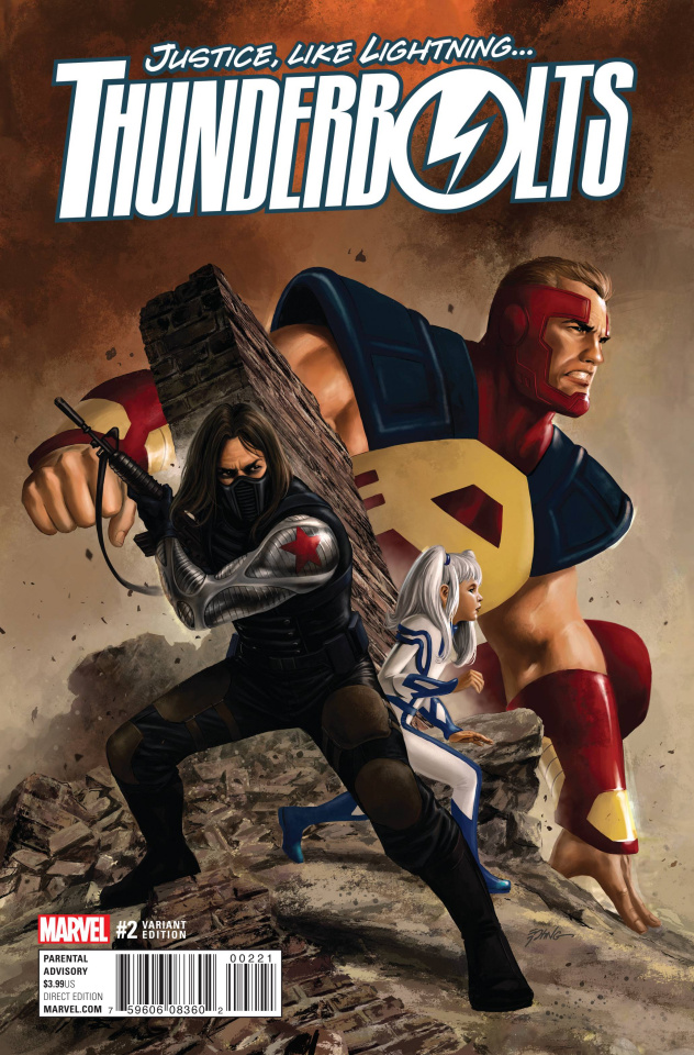 Thunderbolts #2 (Variant Cover)