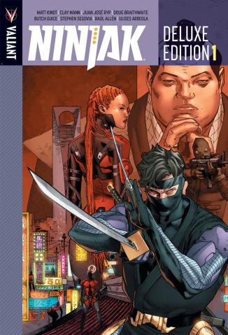 Ninjak Book 1 (Deluxe Edition)