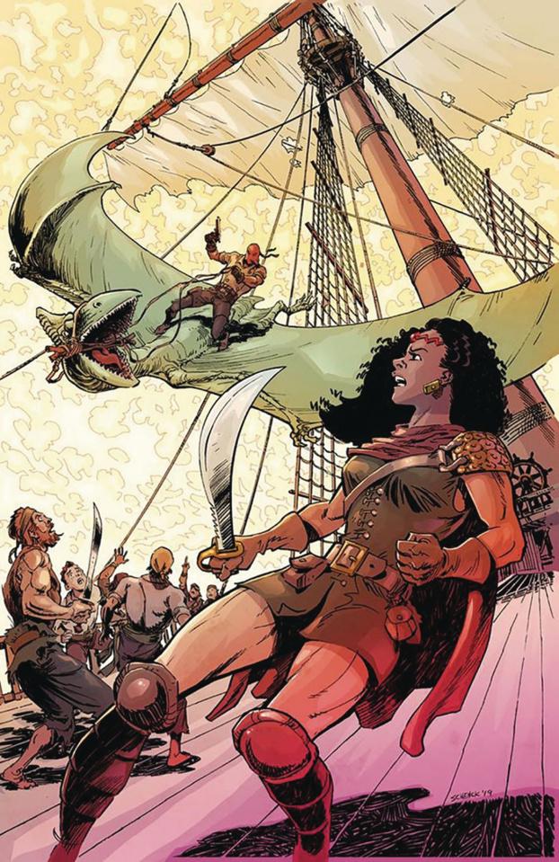Red Range: Pirates of Fireworld #1 (Chris Schenck Cover)
