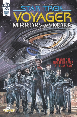 Star Trek: Voyager - Mirrors & Smoke (Woodward Cover)