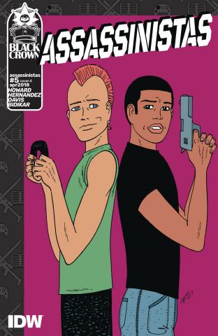 Assassinistas #5 (Hernandez Cover)