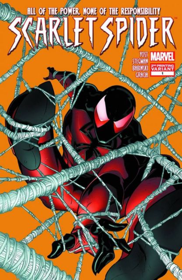 Scarlet Spider #1 (2nd Printing)