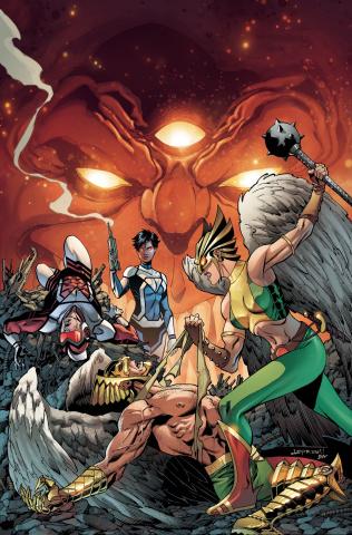 Death of Hawkman #5
