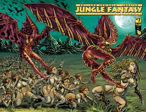 Jungle Fantasy: Ivory #7 (Wrap Cover)