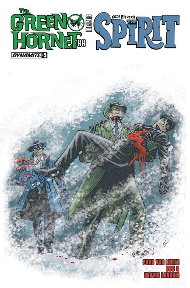 The Green Hornet '66 Meets The Spirit #5 (Templeton Cover)