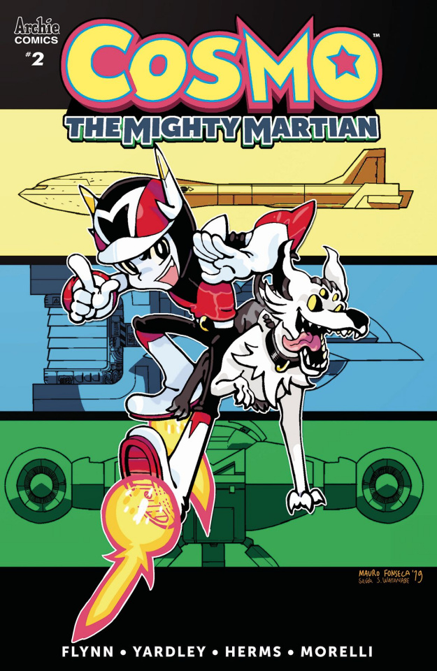 Cosmo: The Mighty Martian #2 (Fonseca Cover)
