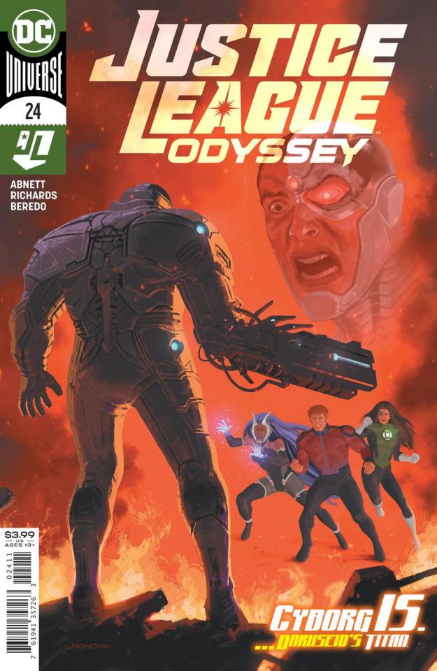 Justice League: Odyssey #24 (Jose Ladronn Cover)