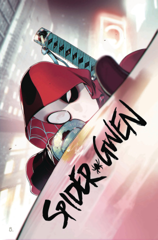 Spider-Gwen #32 (Bengal Deadpool Cover)