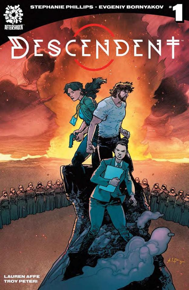 Descendent #1 (10 Copy Bressan Cover)