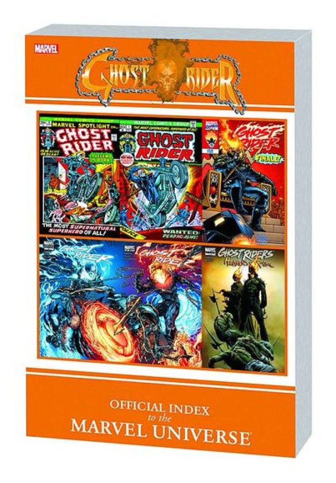 The Official Index to the Marvel Universe Ghost Rider