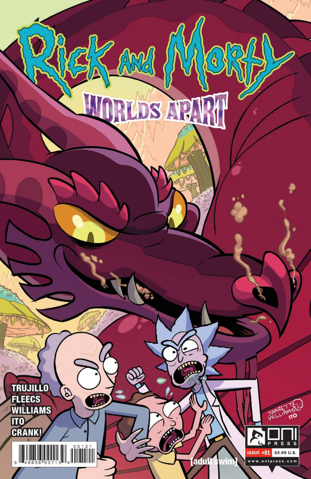 Rick and Morty: Worlds Apart #1 (Williams Cover)