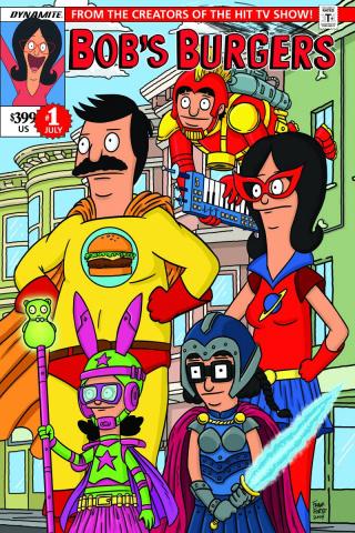 Bob's Burgers #1 (Forte Cover)