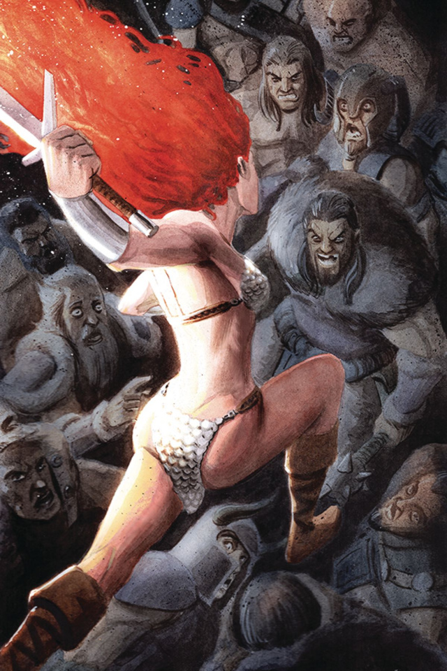 Red Sonja #15 (40 Copy Bob Q Virgin Cover)