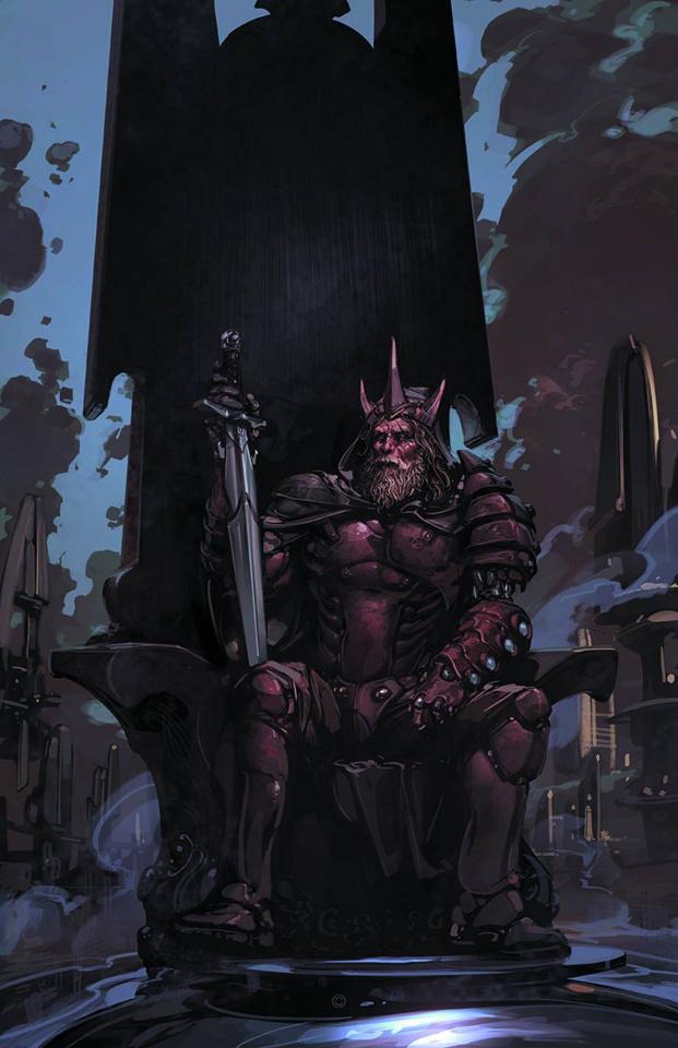 Eternal Warrior #5 (Crain Cover)