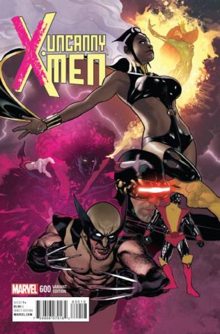 Uncanny X-Men #600 (Hughes Cover)