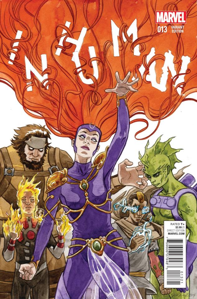 Inhuman #13 (Women of Marvel Cover)