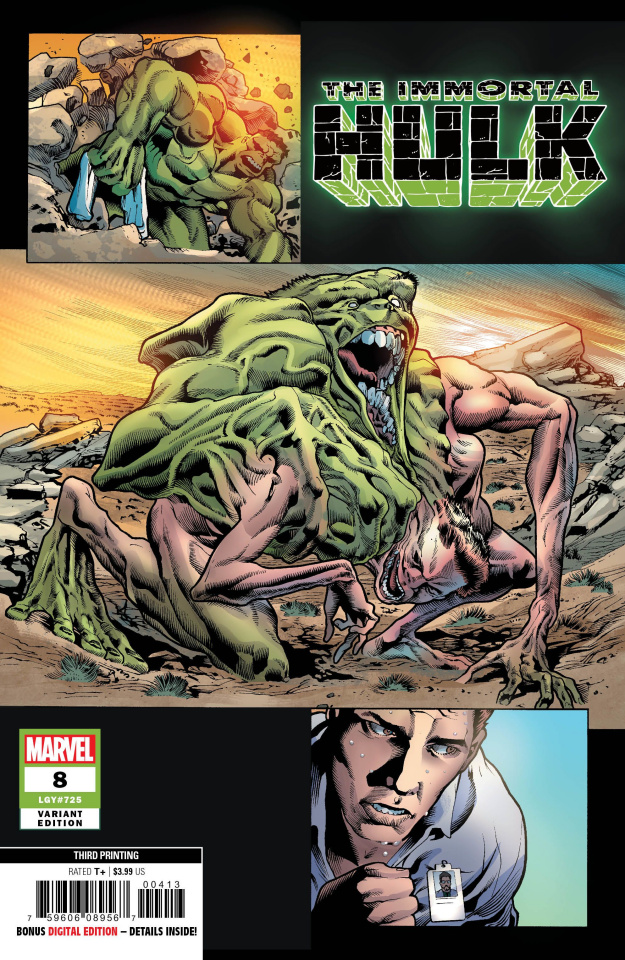 The Immortal Hulk #8 (Bennett 3rd Printing)
