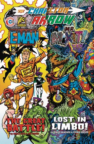 The Charlton Arrow #3 (Butler Cover)