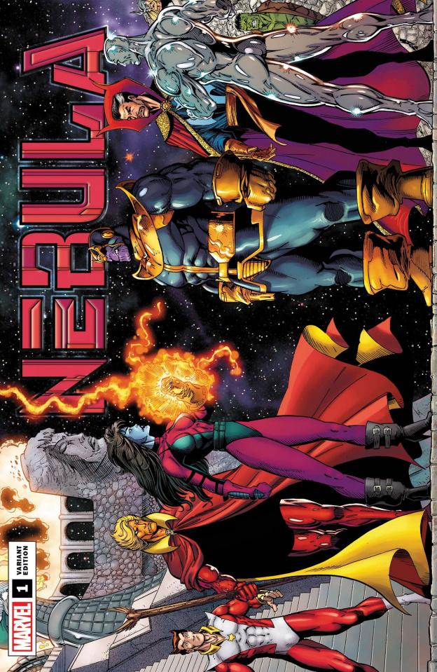 Nebula #1 (Ron Lim Remastered Cover)