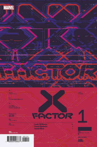 X-Factor #1 (Muller Design Cover)