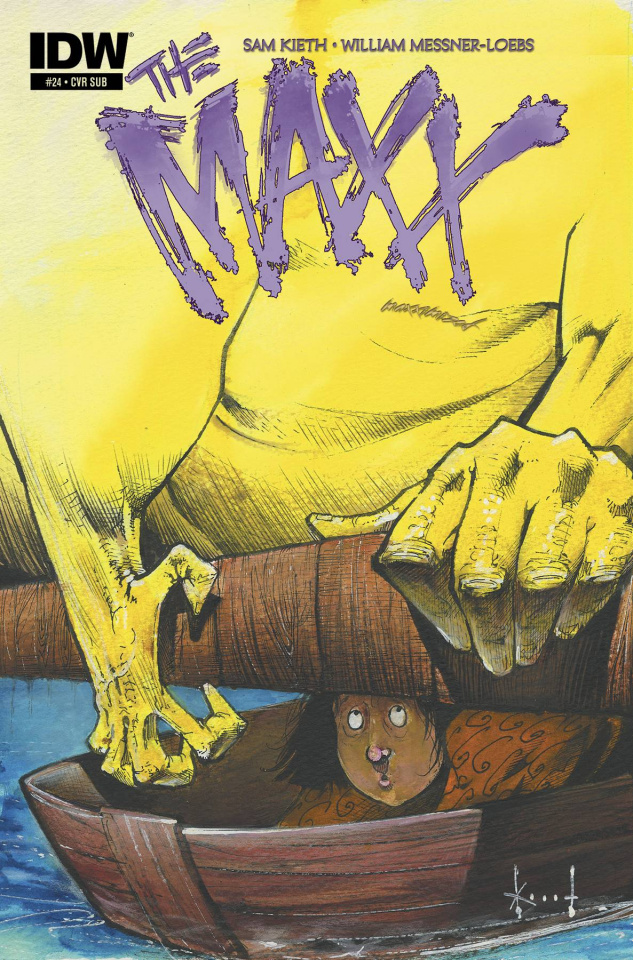The Maxx: Maxximized #24 (Subscription Cover)