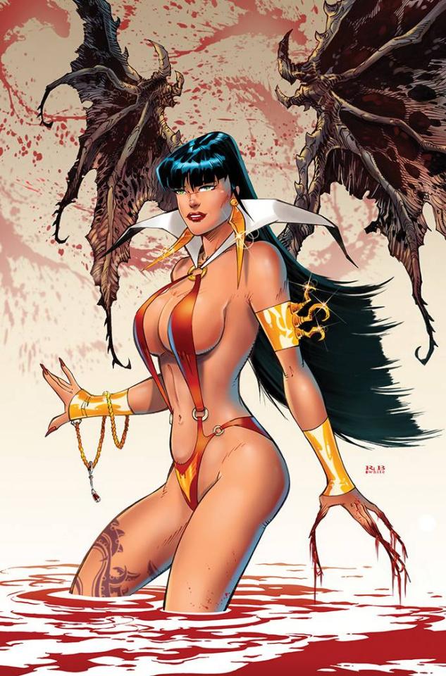 Vampirella #19 (25 Copy Rb White Virgin Cover)