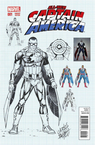 All-New Captain America #1 (Pacheco Cover)