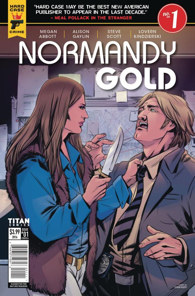 Normandy Gold #1 (Shi Bao Cover)