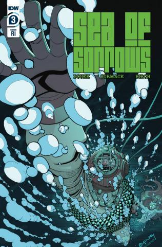 Sea of Sorrows #3 (10 Copy Joe Mulvey Cover)