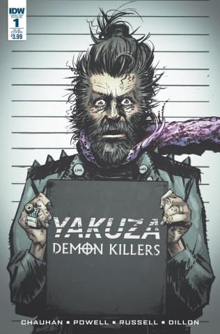 Yakuza: Demon Killers #1 (Subscription Cover)